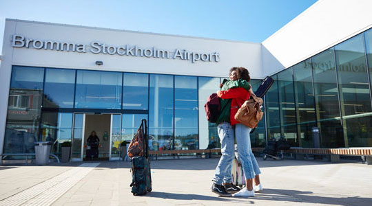 Bromma Stockholm Airport Terminal