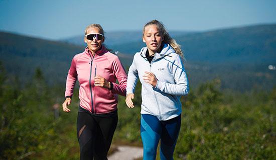 Fjällvandring och löpning