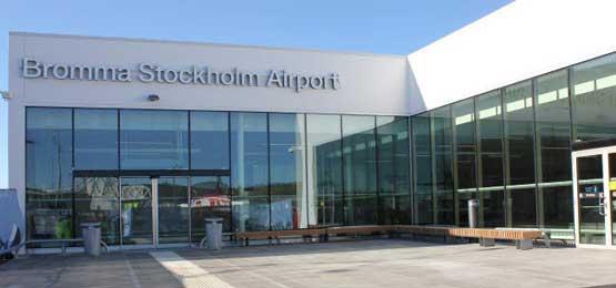 Malmö Aviation Incheckning